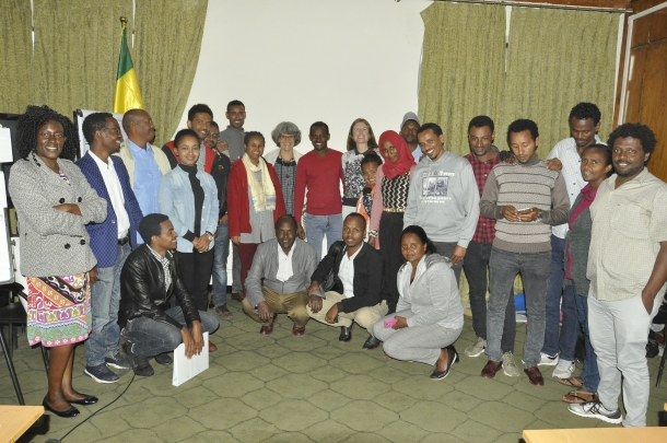 Participants of the gender and breeding workshop